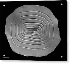 Acrylic Print featuring the relief Illusion by Suhas Tavkar