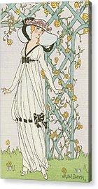 Illustration From Journal Des Dames Et Des Modes Acrylic Print