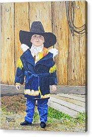 I'm A Cowboy Acrylic Print