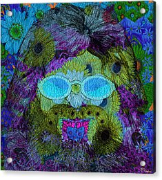 Im A Hippie Man Acrylic Print