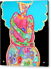 Im A Work Of Art Acrylic Print by Diamin Nicole