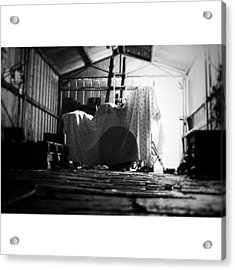 I'm After That Grunge Look Acrylic Print