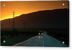 Acrylic Print featuring the photograph I'm Going Home Ten Years After by Peter Thoeny