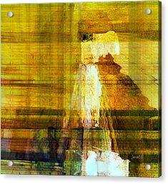 I'm Here For You Acrylic Print by Fania Simon