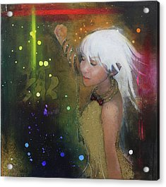 I'm Just A Passenger Acrylic Print by Law Cheuk Yui