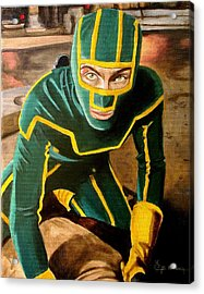 I'm Kick-ass Acrylic Print by Al  Molina