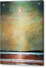 I'm Never Alone Acrylic Print by Toni Grote