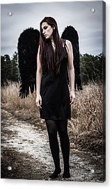 Acrylic Print featuring the photograph I'm No Angel by Brian Hughes