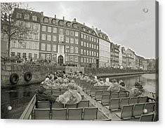 I'm Not A Tourist In Nyhavn Acrylic Print