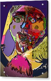 I'm Not What You Think I'm Acrylic Print by Noredin Morgan