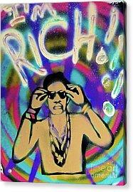 I'm Rich Homie Quan Acrylic Print