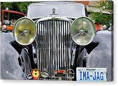 Ima A Jag Acrylic Print
