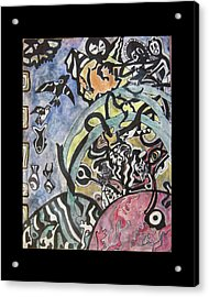 Images From The Collective Unconscious Acrylic Print by Mimulux patricia no No