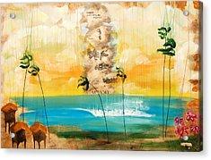 Imagine Assimilating Acrylic Print by Nathan Paul Gibbs