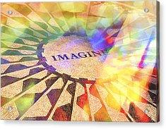 Imagine Colors Acrylic Print by Lutz Baar
