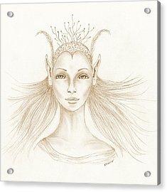 Imagine Acrylic Print by K S Rankin