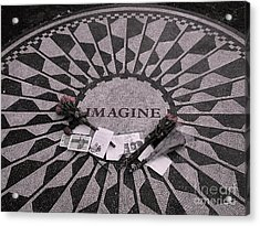 Imagine Acrylic Print
