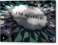 Imagine Acrylic Print by Kelley King