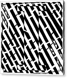 iMaze Acrylic Print by Yonatan Frimer Maze Artist