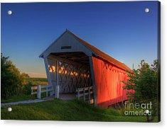 Imes Covered Bridge Acrylic Print
