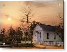 Immaculate Conception Church Acrylic Print by Lori Deiter