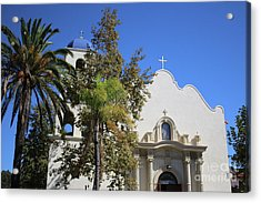 Immaculate Conception Church San Diego Acrylic Print