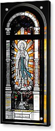Immaculate Conception San Diego Acrylic Print by Christine Till
