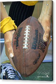 Immaculate Reception Acrylic Print by David Bearden