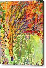 Immersed In Summer Part 2 Of 3 Acrylic Print