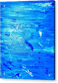 Acrylic Print featuring the painting Immersion by Piety Dsilva