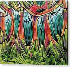 Impassable Forest  Acrylic Print
