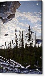 Impending Doom Acrylic Print by Albert Seger