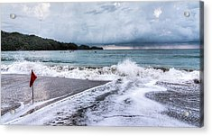 Impending Storm  Acrylic Print by Michael Santos