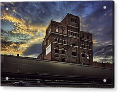 Imperial Brewery Acrylic Print by Thomas Zimmerman
