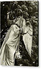 Imposing Angel Acrylic Print by Brigid Nelson