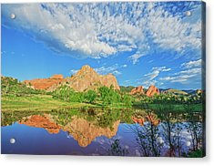 Impossible Not To Fall In Love With Colorado. Here's Why.  Acrylic Print by Bijan Pirnia