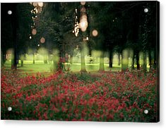 Impression At The Yarkon Park Acrylic Print