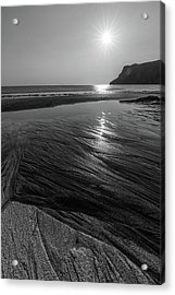 Acrylic Print featuring the photograph Impression From Talisker Beach by Davorin Mance