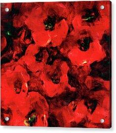 Impression Of Poppies Acrylic Print