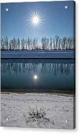 Acrylic Print featuring the photograph Impression Of Reflection by Davorin Mance