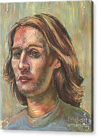 Impressionistic Portrait Acrylic Print