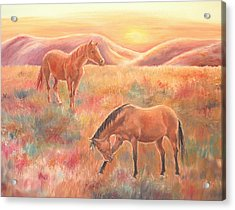 Impressions At Sunset Acrylic Print