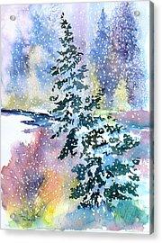 Impressions Of Christmas Acrylic Print
