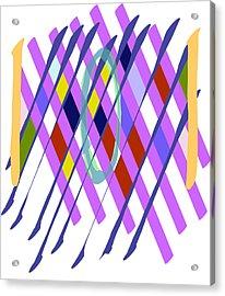 Improvised Geometry #1 Acrylic Print