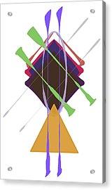 Improvised Geometry #3 Acrylic Print