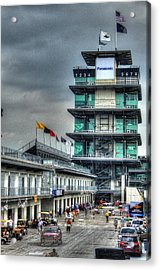 Ims Pagoda Acrylic Print