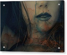Acrylic Print featuring the mixed media In A Broken Dream  by Paul Lovering