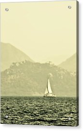 In A Distance Acrylic Print by Svetlana Sewell