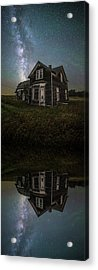 iN A MiRRoR dARKLY Acrylic Print by Aaron J Groen