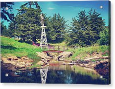 In A Perfect World Acrylic Print by Laurie Search